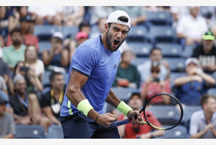 Tennis: Us Open, Berrettini batte il tedesco Otte e va ai quarti
