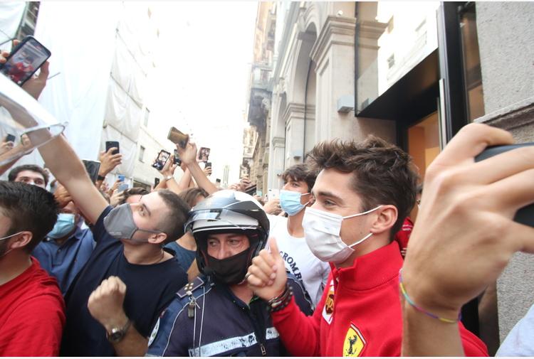 F1: Monza; Leclerc 'Sainz amico-rivale, è compagno ideale'