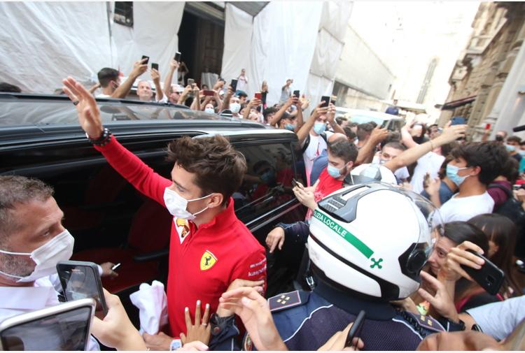 F1: Leclerc 'Monza imparagonabile, è weekend speciale'