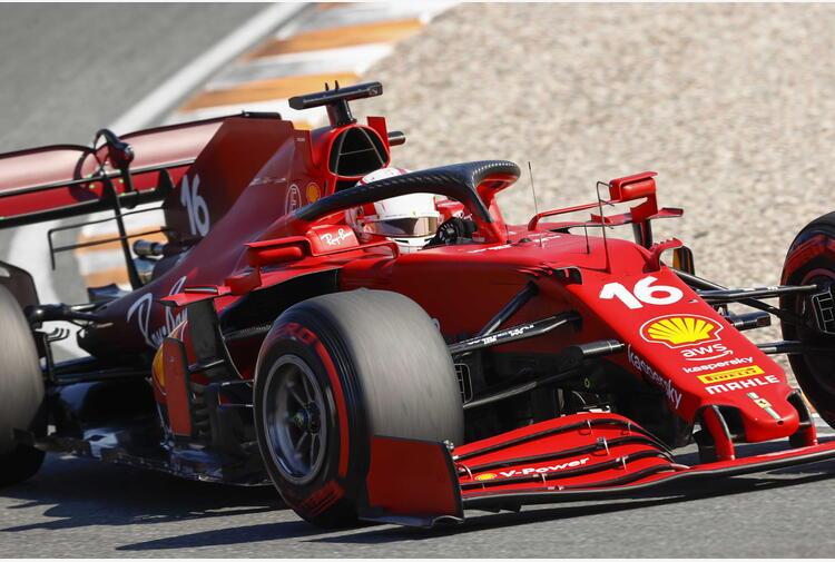 F1:Monza, Leclerc 'problema tecnico mi ha rallentato'