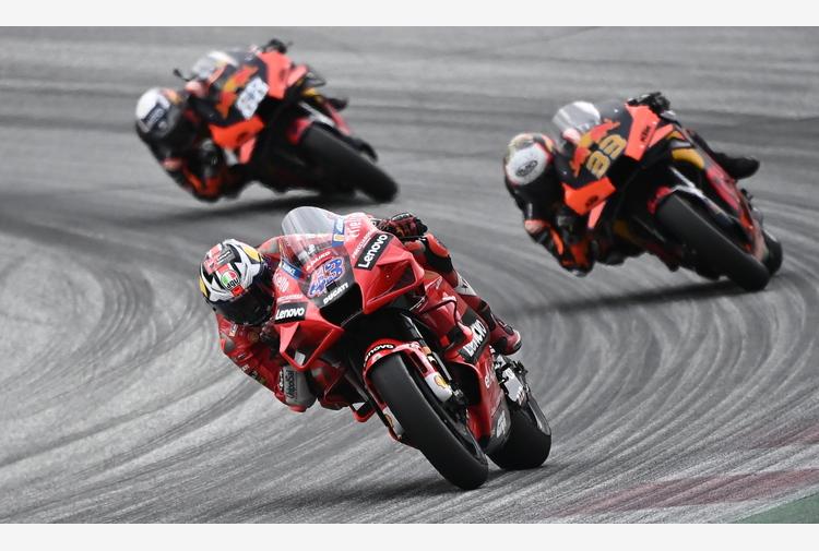 Moto:Aragon;Ducati Miller vola in libere,poi Aprilia Espargaro