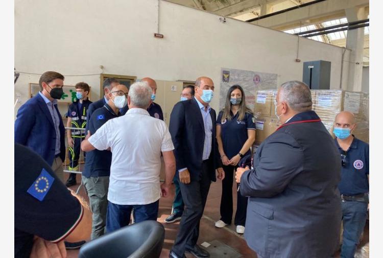 Protezione civile, Zingaretti 'Presto bando per 90 nuovi pick up'