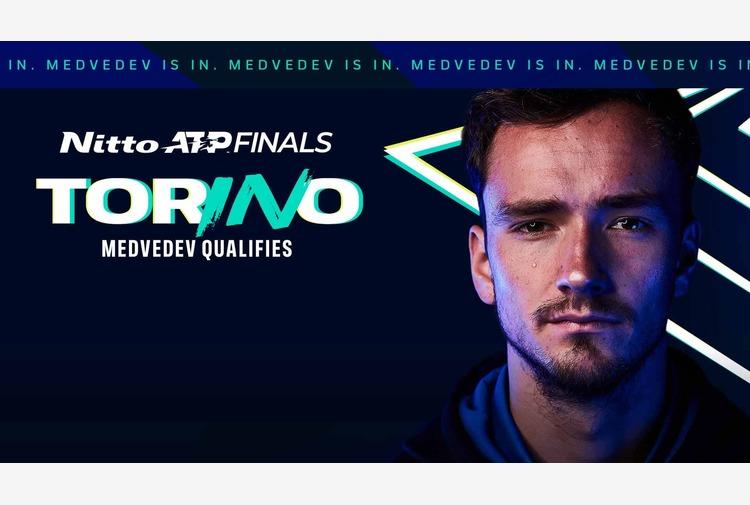 Medvedev e Tsitsipas alle Nitto ATP Finals