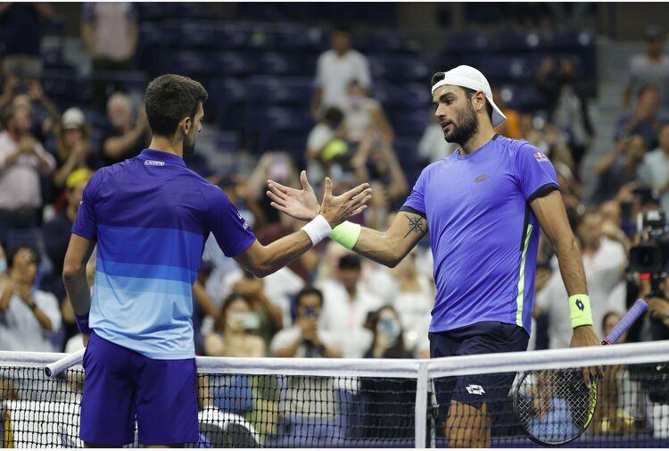 Ranking ATP: Djokovic dice 338, Berrettini al 7° posto e 14° Sinner
