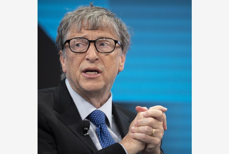 Bill Gates,mondo ancora a rischio pandemie globali