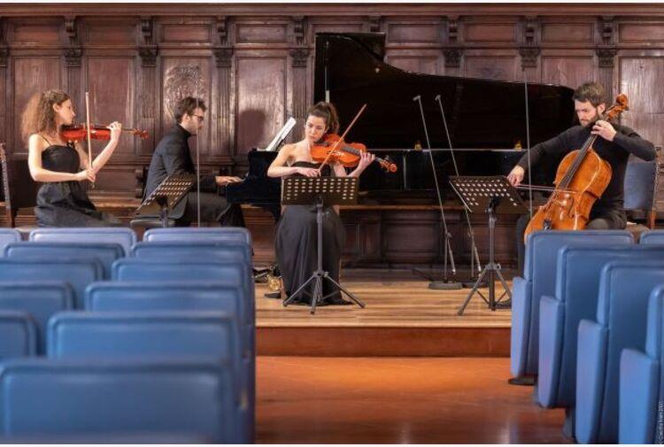 S. Cecilia, Mahler e Strauss per il Quartetto Werther