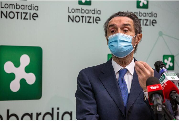 Vaccini Lombardia, Fontana: 'Oggi 80% vaccinati, è immunità di gregge'