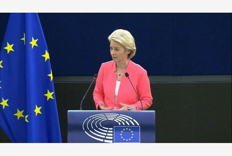 ## Il discorso sullo stato dell'Unione di Ursula von der Leyen