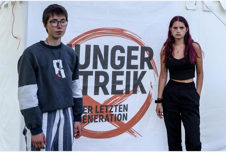 Clima: Germania, ragazzi in sciopero della fame dal 31 agosto