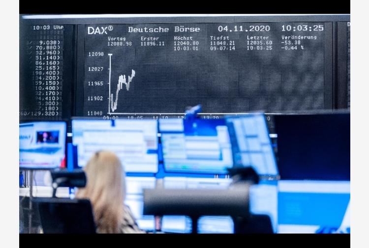 Borsa: Europa si conferma debole, Milano (-0,11%) segue scia