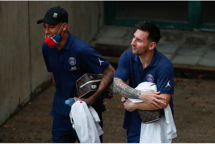 Champions: Psg; Messi, Neymar e Mbappé prima volta insieme