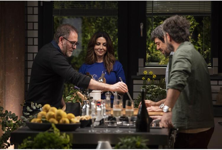 Italia a tavola, da De Luigi a Ferilli in Dinner Club