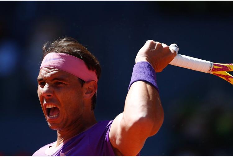 Tennis: Nadal 'Momento complicato, l'età avanza ma serve pazienza'