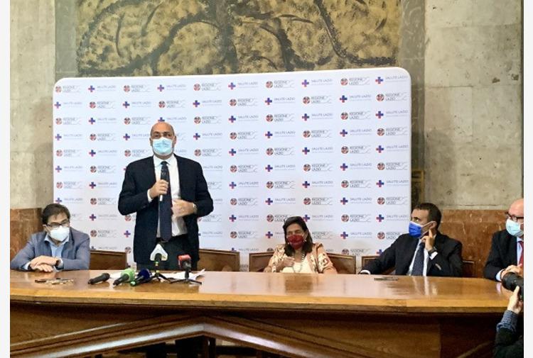 Al via nel Lazio terza dose vaccino, Zingaretti 'Segnale di speranza'