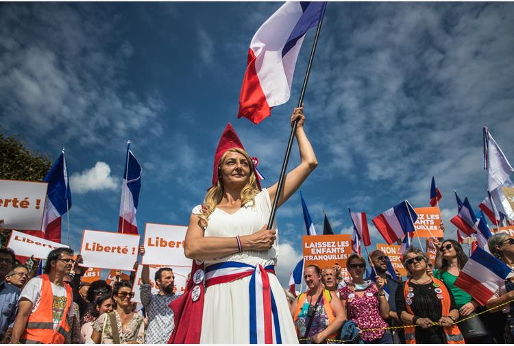 Covid: Francia, decimo sabato di cortei anti-green pass