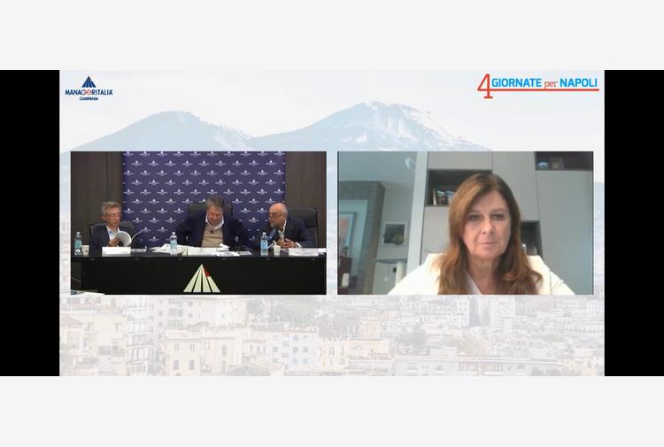 Manfredi a Manageritalia: 'Nei primi 100 riorganizziamo comune e partecipate'