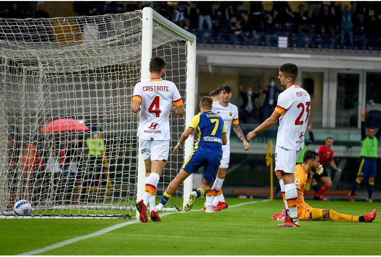 Serie A, Verona-Roma 3-2: primo ko per Mourinho