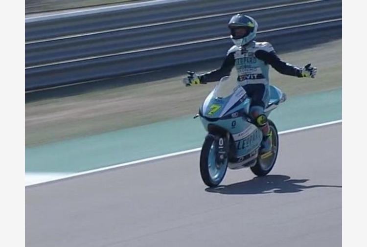 Moto3, a Misano vince Foggia davanti ad Antonelli e Migno