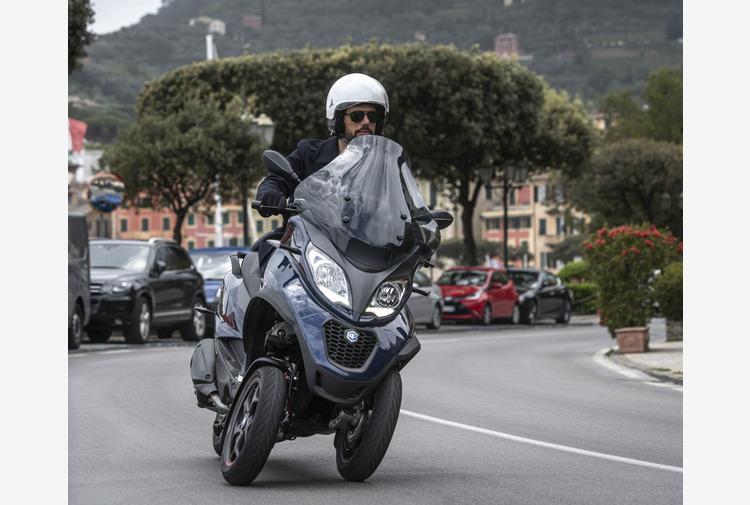 Dopo Vespa, riconosciuta l'unicita' anche dello scooter Piaggio MP3