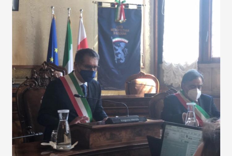 Bologna, Merola saluta Consiglio comunale