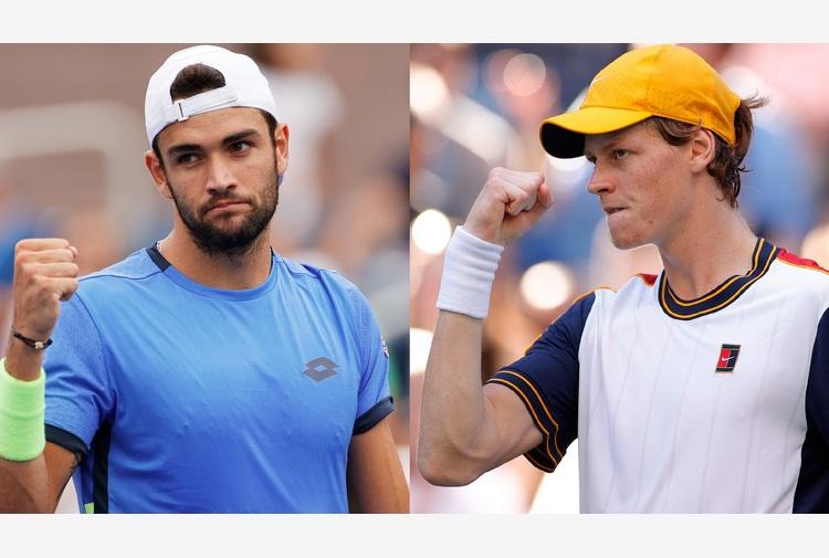 """'1000"""" Indian Wells: in doppio Berrettini-Sinner e Sonego-Fognini"""