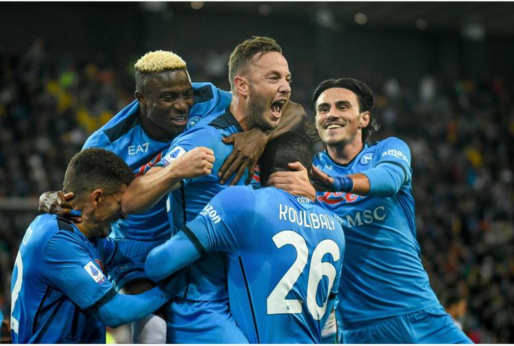 Calcio: Napoli. Osimhen 'Squadra spettacolare', Fabian Ruiz 'Orgoglioso'
