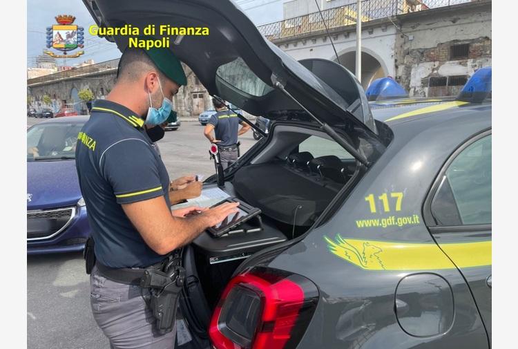 Blitz 'Alto Impatto' della GdF a Torre Annunziata