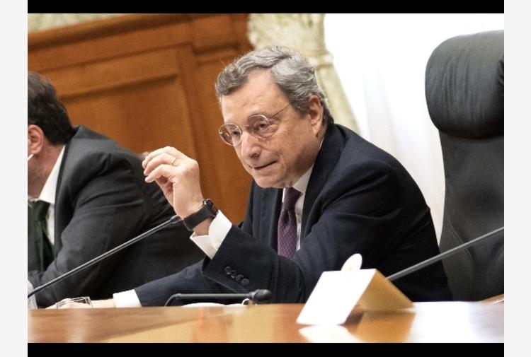 Lavoro: lunedì 27 settembre incontro Draghi e sindacati