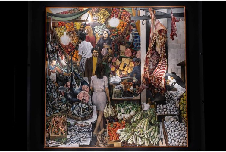 'La Vucciria' di Guttuso visitabile allo Steri di Palermo a 1 euro