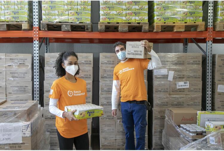 Fondazione Banco Alimentare, distribuiti 2 mln e mezzo di pasti