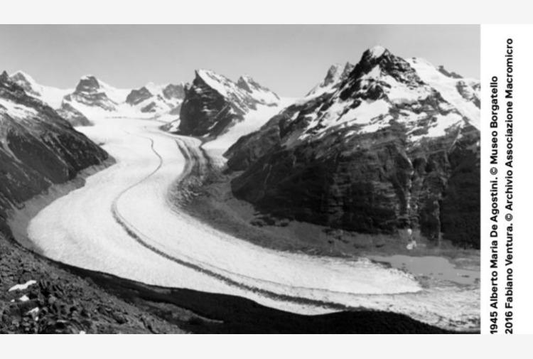 Fondazione Cariplo, a Milano la mostra 'Sulle tracce dei ghiacciai'