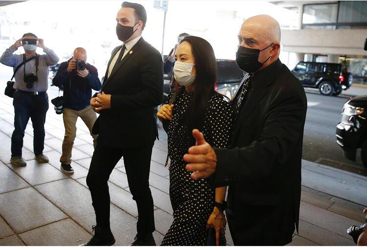 Giudice canadese rilascia lady Huawei, è libera