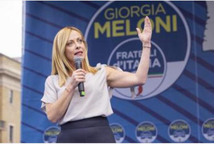 Covid, Meloni: 'Veri no vax stanno al Governo'