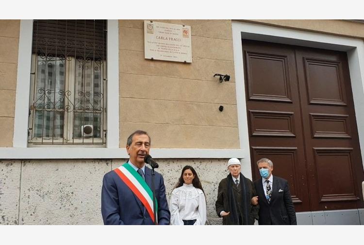 Sala 'Carla Fracci delicata milanese come tutti vorremmo essere'