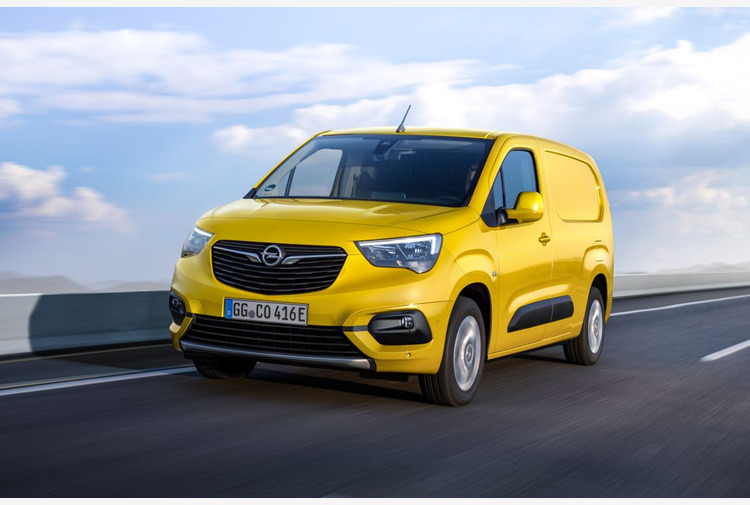 Al via gli ordini per il nuovo Opel Combo-e Cargo
