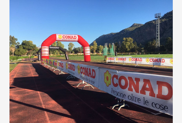 Conad, impegno per lo sport con la Palermo International Half Marathon