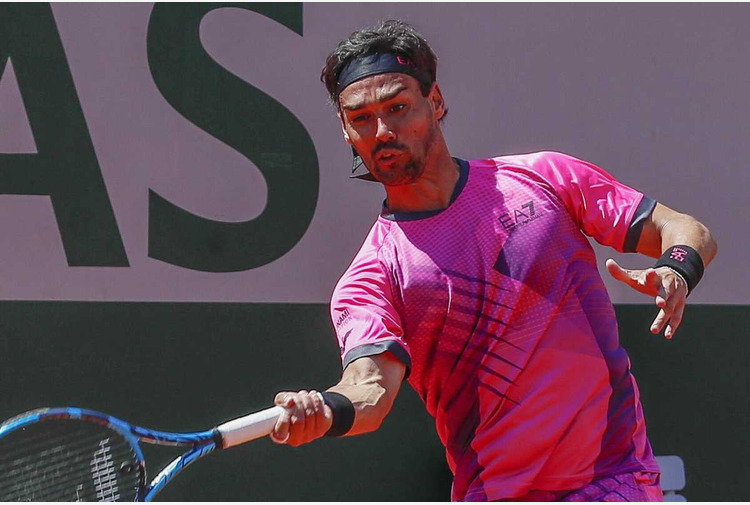 Tennis: Fognini cede a Tsitsipas e saluta Indian Wells