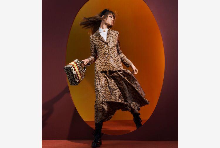 Mizza Print, omaggio Dior a sua musa con tema animalier