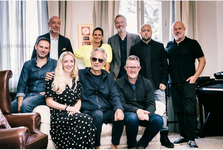 Andrea Bocelli, esclusiva con Decca Records Uk e Universal Music