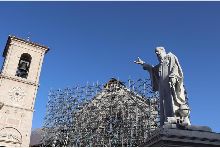 Approvato il progetto di ricostruzione della Basilica di Norcia